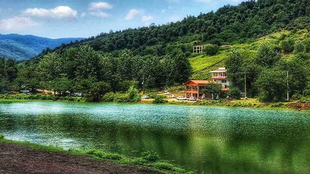 Visit Aroos Lake in north Iran