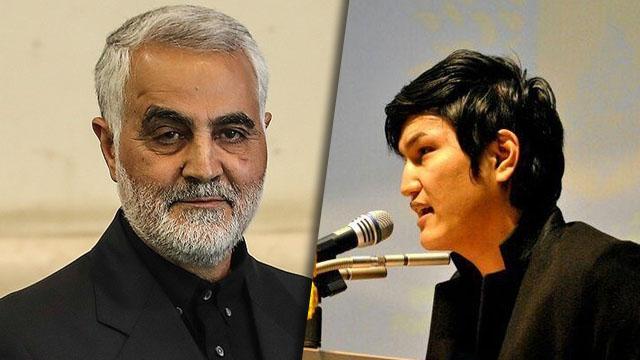 سروده شاعر افغانستانی در رثای شهید «قاسم سلیمانی»