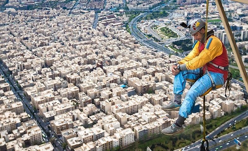Tehran hosts world's highest bungee jump