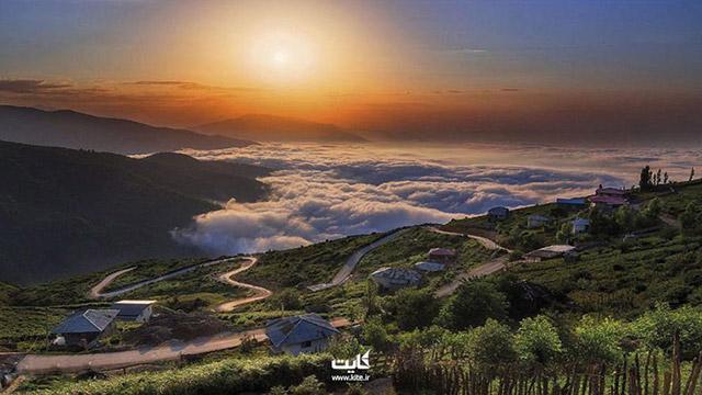 Enjoy Sang Chal heaven in North Iran