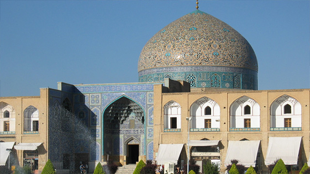 مسجد «شیخ لطف الله» جلوه گاه شکوه معماری اسلامی+تصاویر