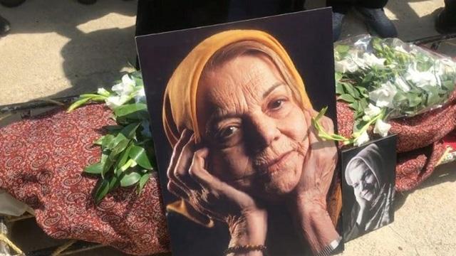 وداع جامعه هنری ایران با «صدیقه کیانفر»