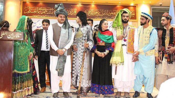 نمایشگاه لباس اقوام مختلف افغانستان