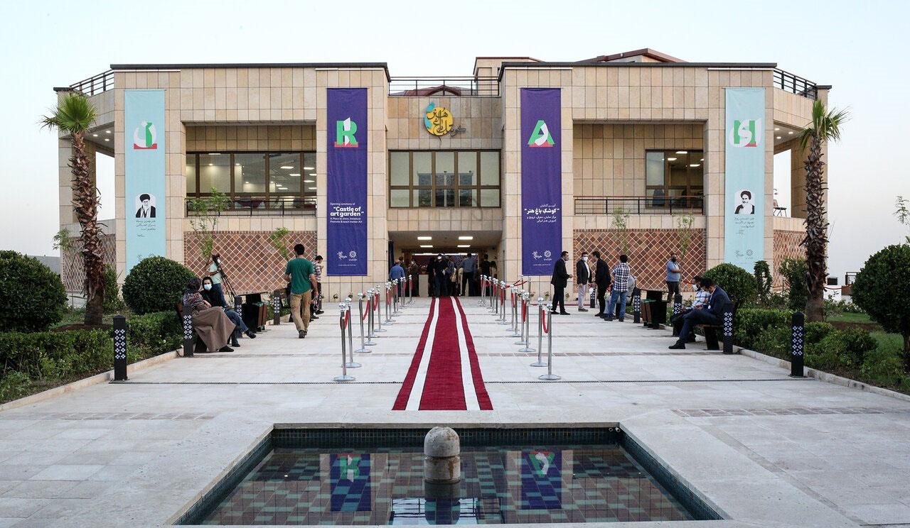 'Castle of Art Garden' presents Iran art