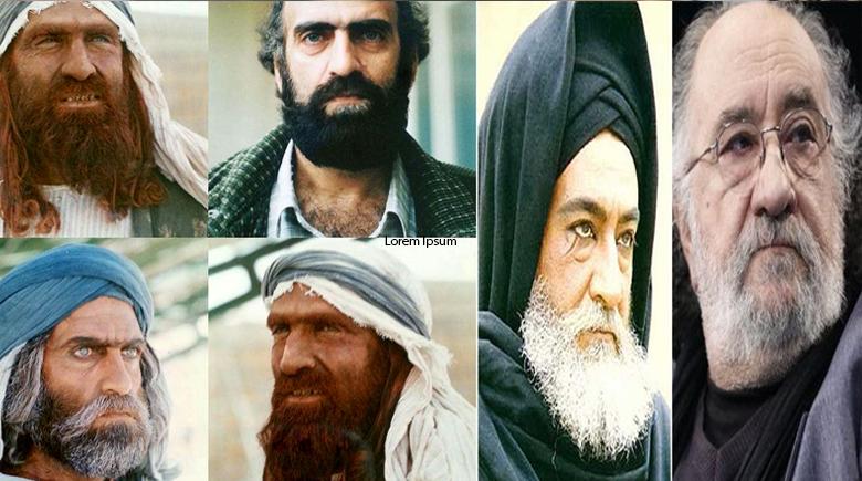"""شاهد مكياجات خالدة لممثلي """"الامام علي(ع)"""""""